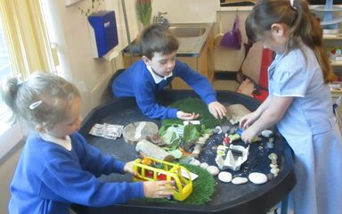 Refugee Week in the Ladybirds Class