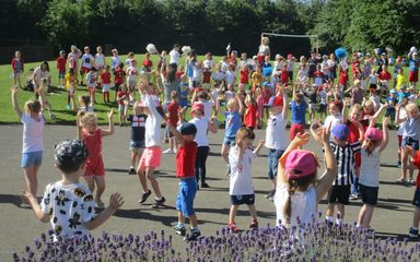 EYFS Dance for School Games Day