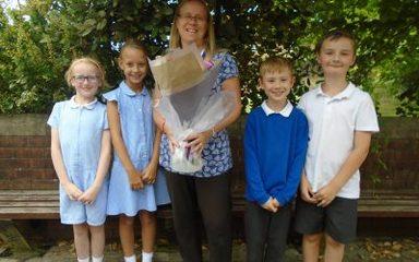 Fond Farewell to Mrs Prynn!