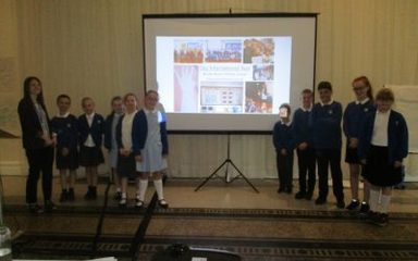 School Council Present at the International Conference