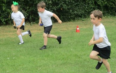 Sports and Games in Reception