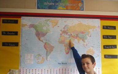 Oaks-Where in The World?  Article 28- You have the right to a high quality education.