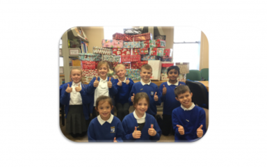 A huge thank you from our school council