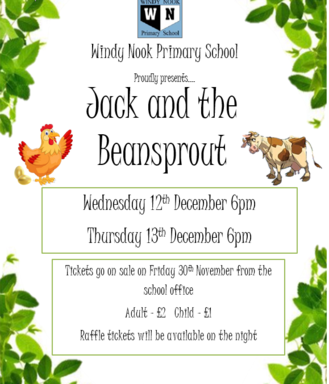 Windy Nook Primary School presents: Jack and the Beansprout