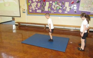 Budding Gymnastics!