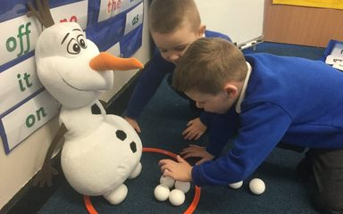 Such a laugh with Olaf!