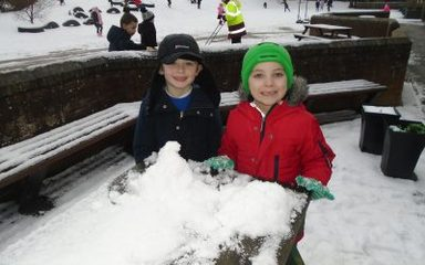 KS1 Golden Time snow fun!