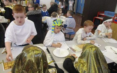 Egyptian Breakfast in LKS2