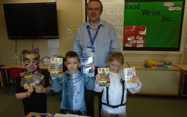 World Book Day at Windy Nook