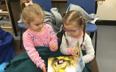 Cosy World Book Day in Nursey