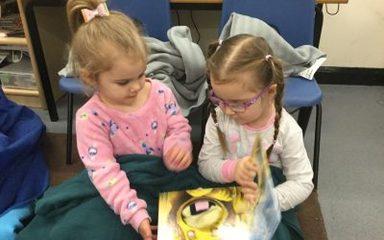 Cosy World Book Day in Nursey