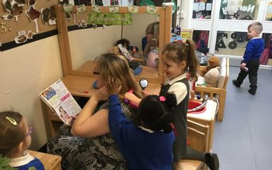 Welcome to nursery's beauticians and hair salon!