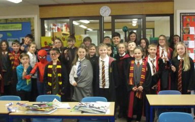 World Book Day in the Beeches class