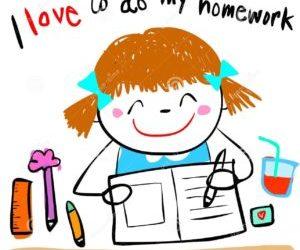 Mr Hawdon's morning class homework