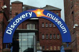 Nightingales visit Discovery Museum