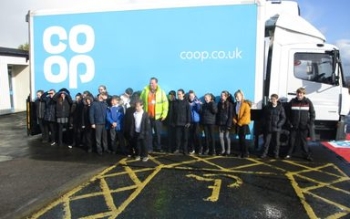 Co-op Lorry Road Safety in Y6
