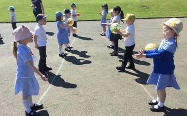 PE with the Dragonflies