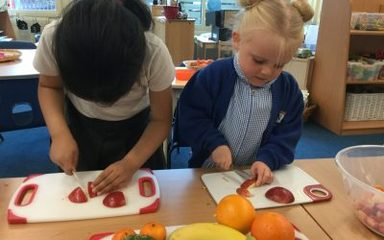 Fruit salad fun in the Dragonflies