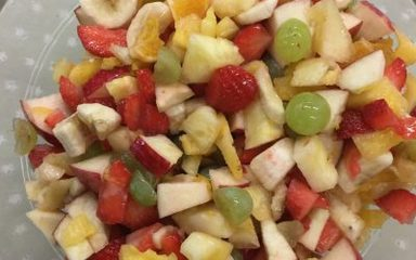 Delicious fruit salad!