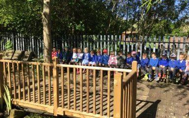Nursery visit our wonderful pond