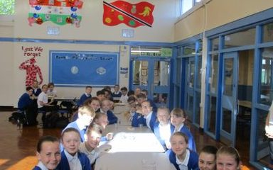 SATS Breakfasts. Well done Y6!