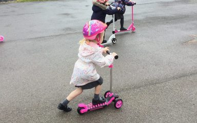 Scooter Training!