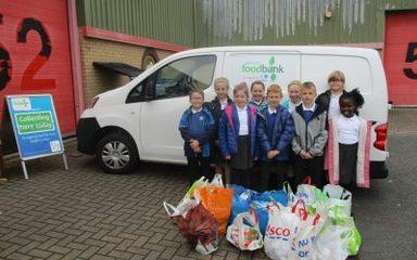 Visit to Gateshead Food Bank