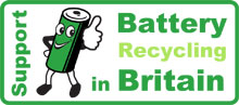 Recycle your batteries here!