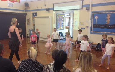Reception Future Ballet  Stars