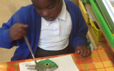 Owls design, make and decorate dinosaur eyes