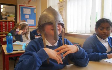 LKS2 take a liking to Vikings!