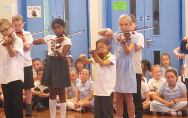 Year 3 & 4 Violin Showcase