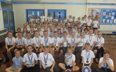 School Sports Assembly