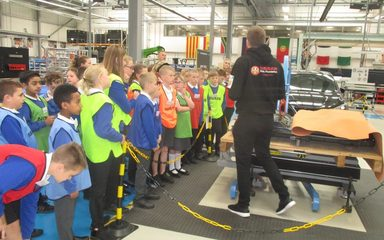 Year 6 visit to Nissan